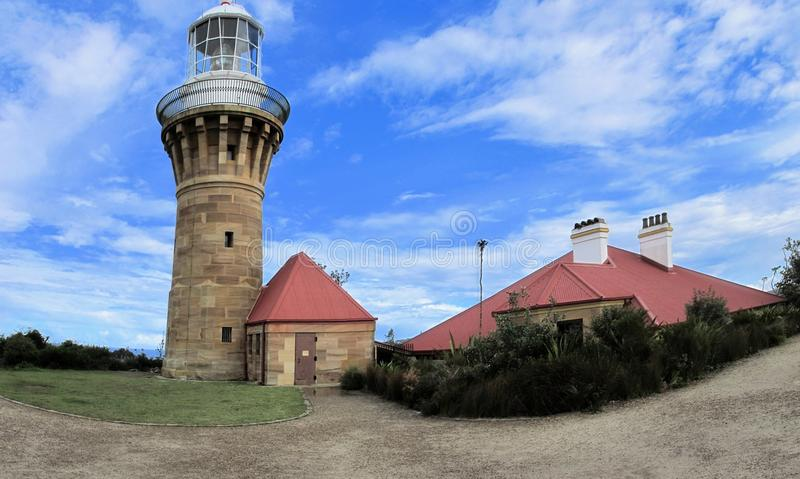 Baranjoey Lighthouse royalty free stock photography