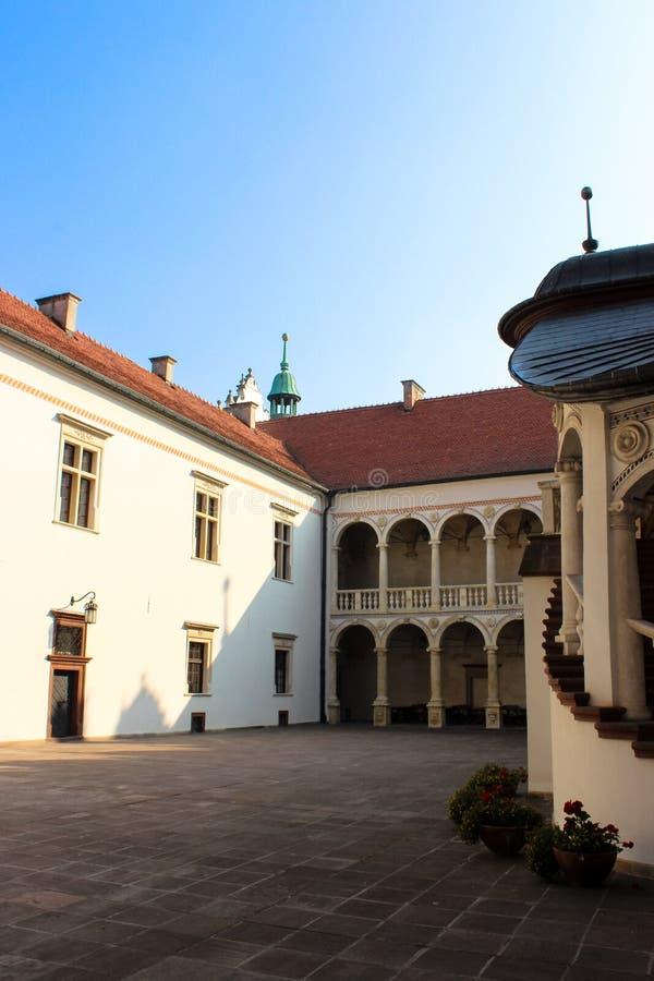 Baranow Sandomierski, palacio de los exteriores en Baranow Sandomierski, Polonia, llamó a menudo pequeño Wawel imagen de archivo libre de regalías