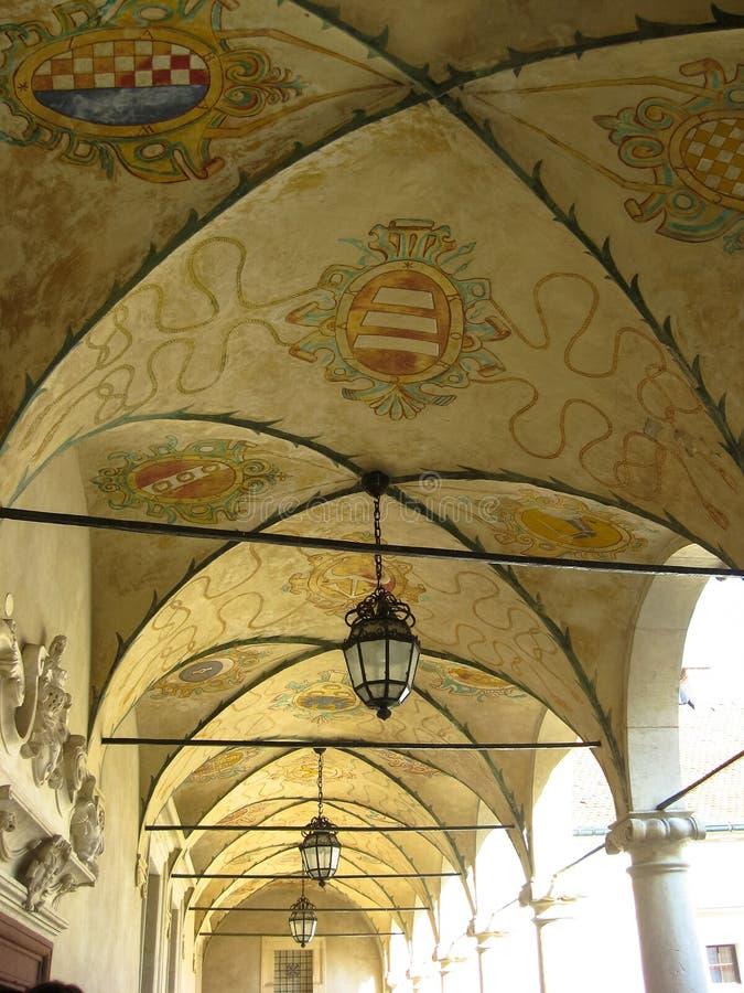 Baranow Sandomierski, palais d'extérieurs dans Baranow Sandomierski, Pologne, a souvent appelé petit Wawel photo libre de droits