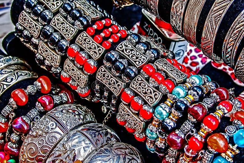 Baratijas y joyería 5 imagen de archivo libre de regalías