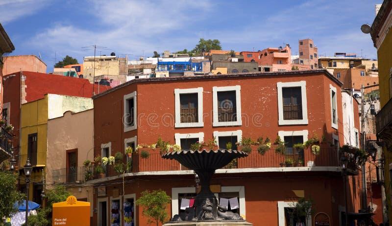 Baratillo Vierkante Guanajuato Mexico royalty-vrije stock afbeelding