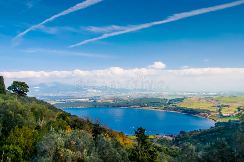 Baratti and Populonia historic villages in Italy royalty free stock photo