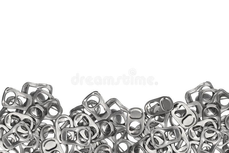 Barattolo di latta del metallo su fondo bianco illustrazione vettoriale
