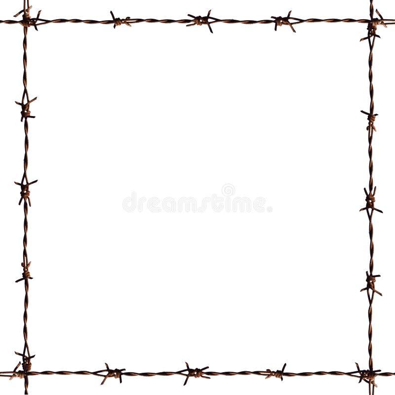 Barb Frame. A photo of barb frame stock illustration