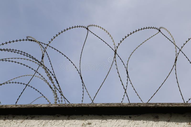 Barb Wire photographie stock