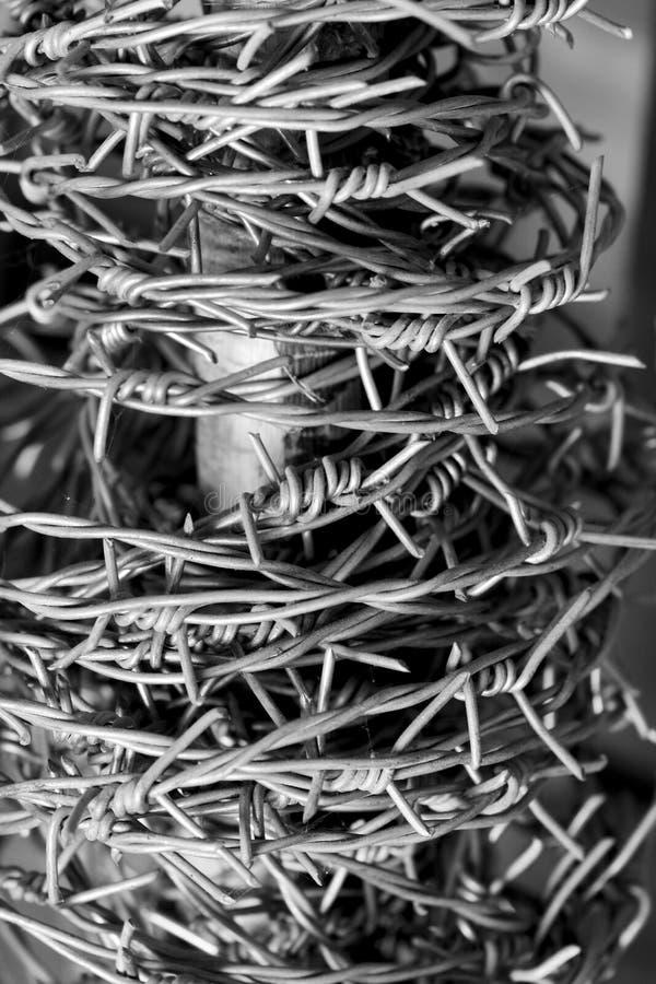 Barb Wire photos libres de droits