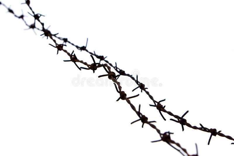 Barb Wire royalty free stock image