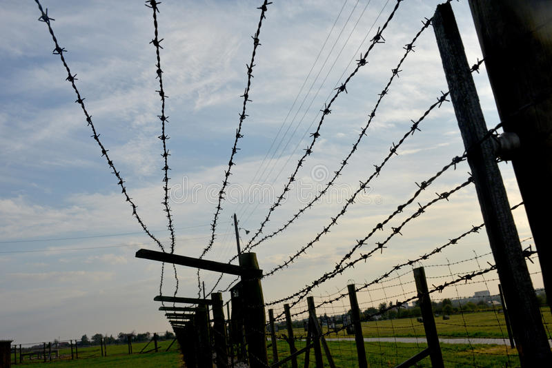barbed wire fence concentration camp. Download Barb-wire Fence Of Concentration Camp Editorial Photo - Image Wire, Poland Barbed Wire I