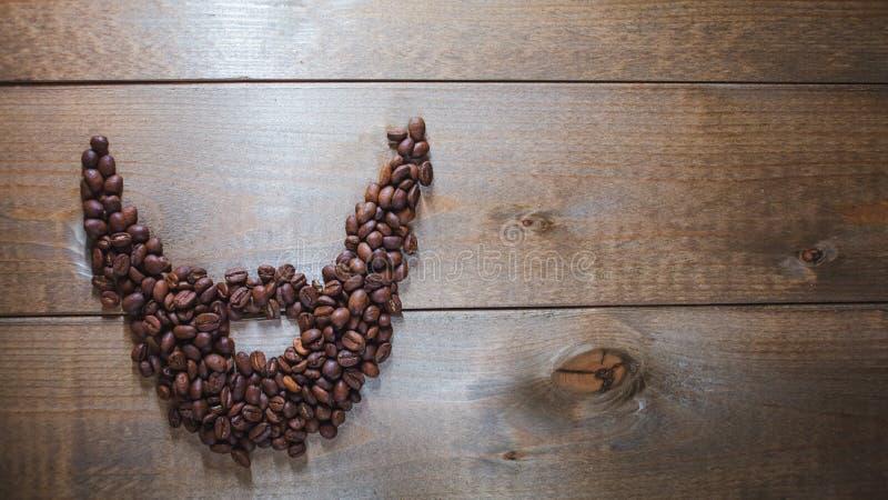 Barba del caffè immagini stock libere da diritti