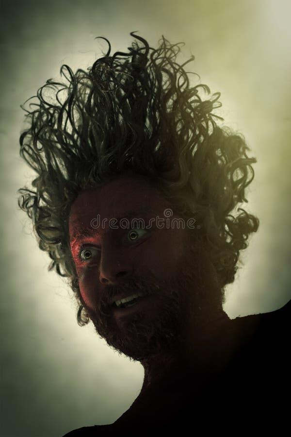 Barba del monstruo del demonio imagenes de archivo