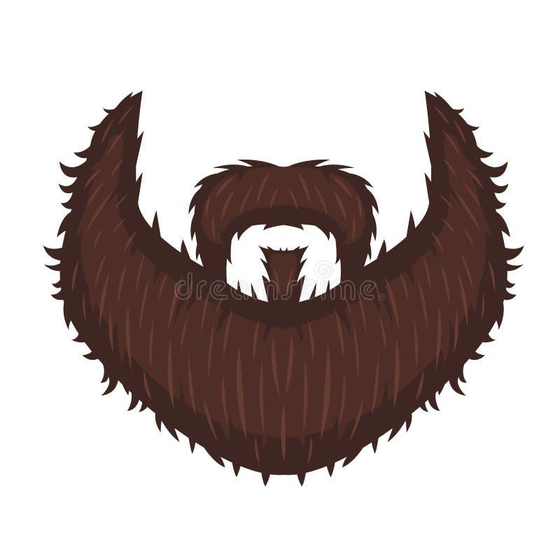 A Barba do capitão ilustração stock