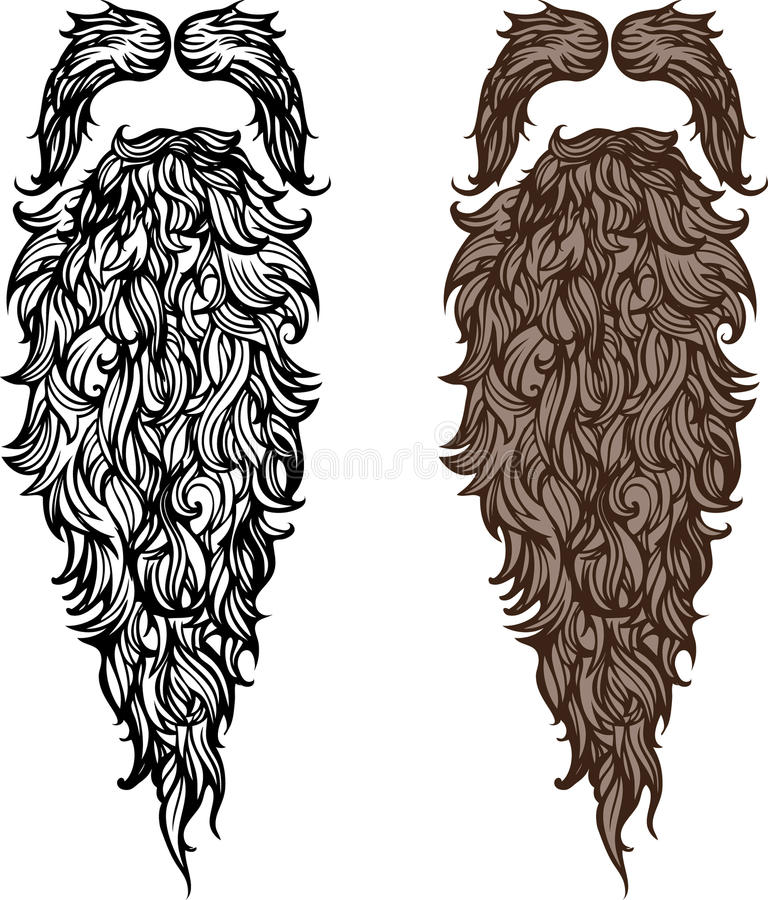 Barba y bigote libre illustration