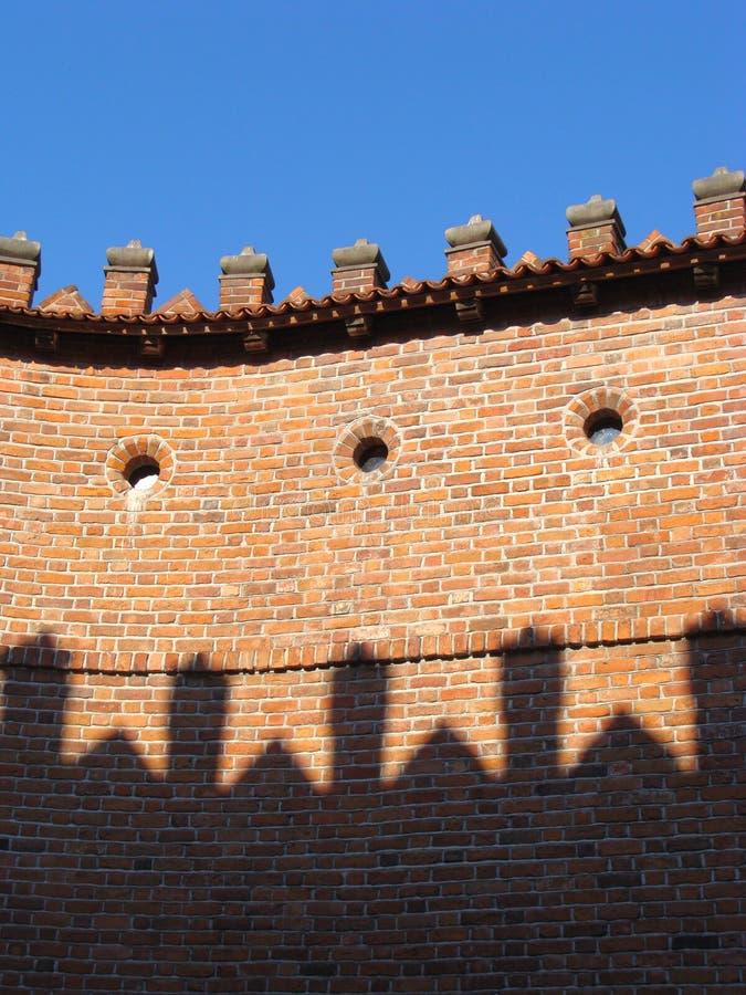 barbacane Varsovie photographie stock