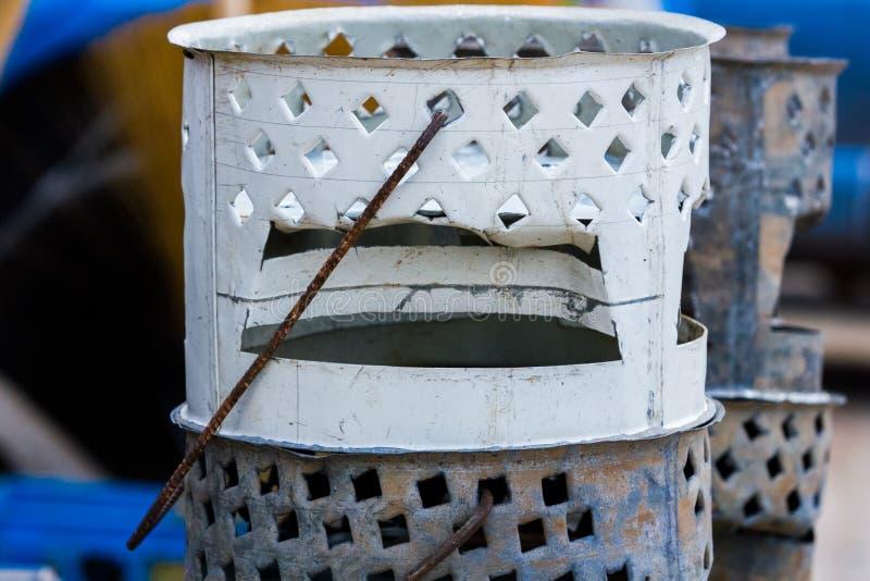 Barbacoa africana del brasero imagen de archivo