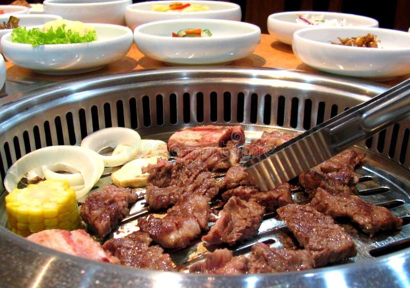 Barbacoa coreana deliciosa imagen de archivo