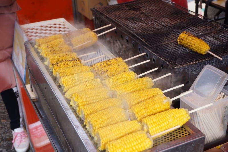 Barbacoa del maíz imágenes de archivo libres de regalías