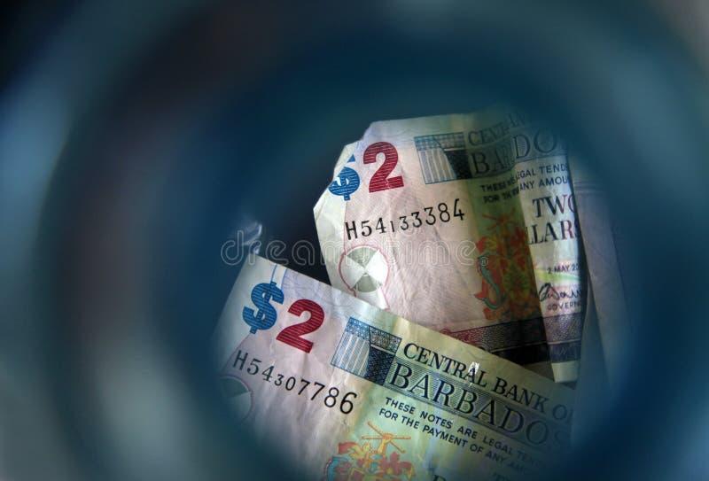 Barbados dolary fotografia royalty free