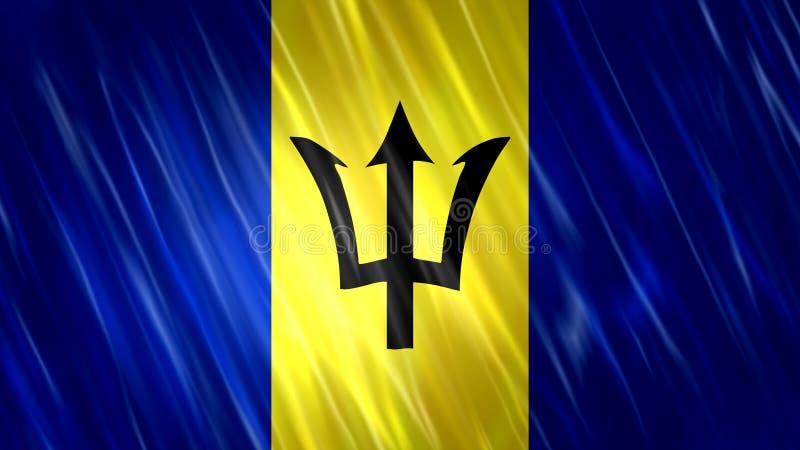 Barbados Flag royalty free stock photos
