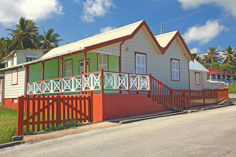 Barbados-Haus stockbild