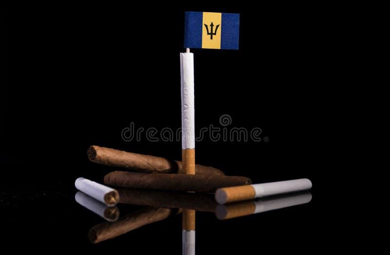 Download Barbados Kennzeichnen Mit Zigaretten Und Zigarren Stockfoto - Bild von land, asche: 96934044