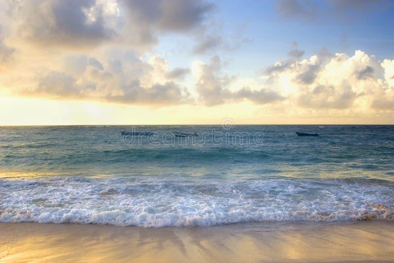 Download Barbados Sunset stock image. Image of coastline, turquoise - 7172127