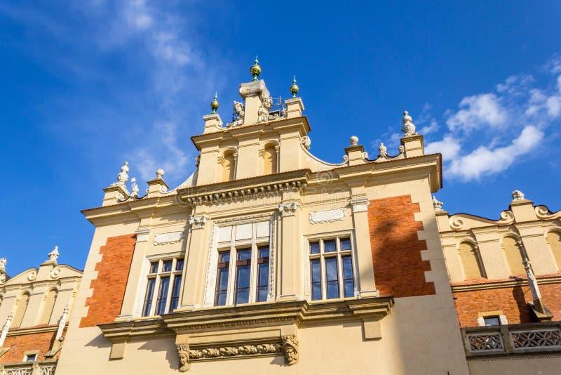 Barbakan Krakowski, Carbican, Cracow, Польша стоковые изображения