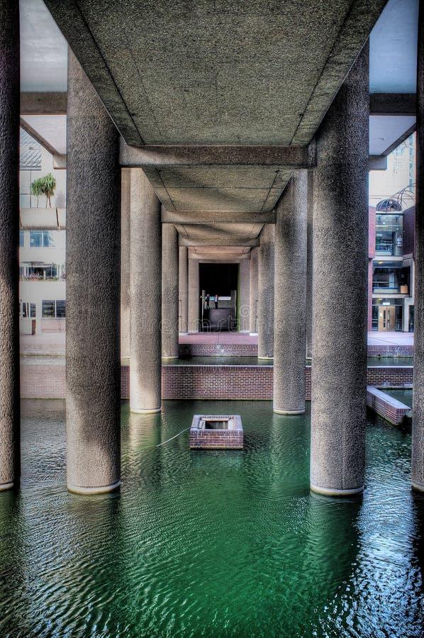 Barbakanu centre w Londyn zdjęcie stock