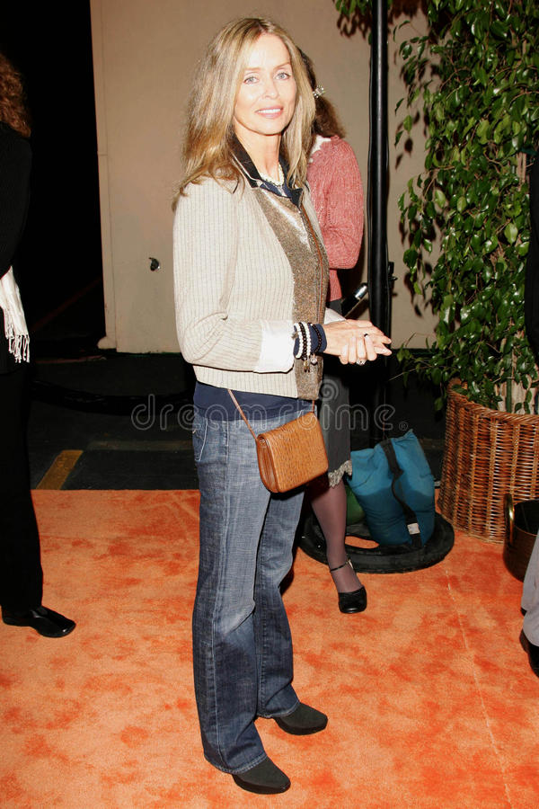Barbara Bach. At the Concert for Bangladesh Revisited with George Harrison and Friends Documentary Gala, Warner Bros Studio, Burbank, CA 10-19-05 royalty free stock photography