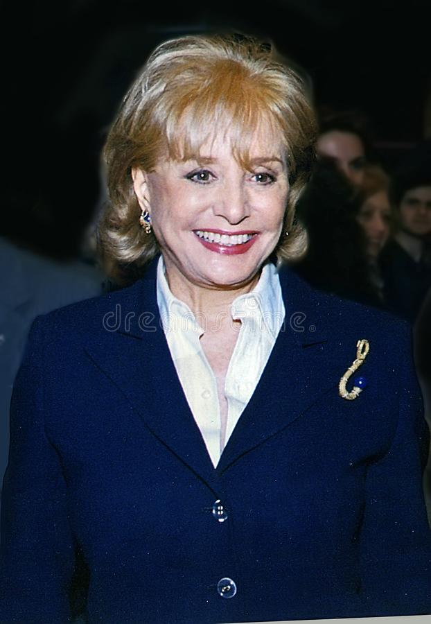Free Barbara Walters Stock Photography - 107051962