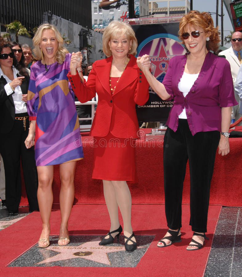 Free Barbara Walters,Joy Behar,The View Stock Photography - 24727502