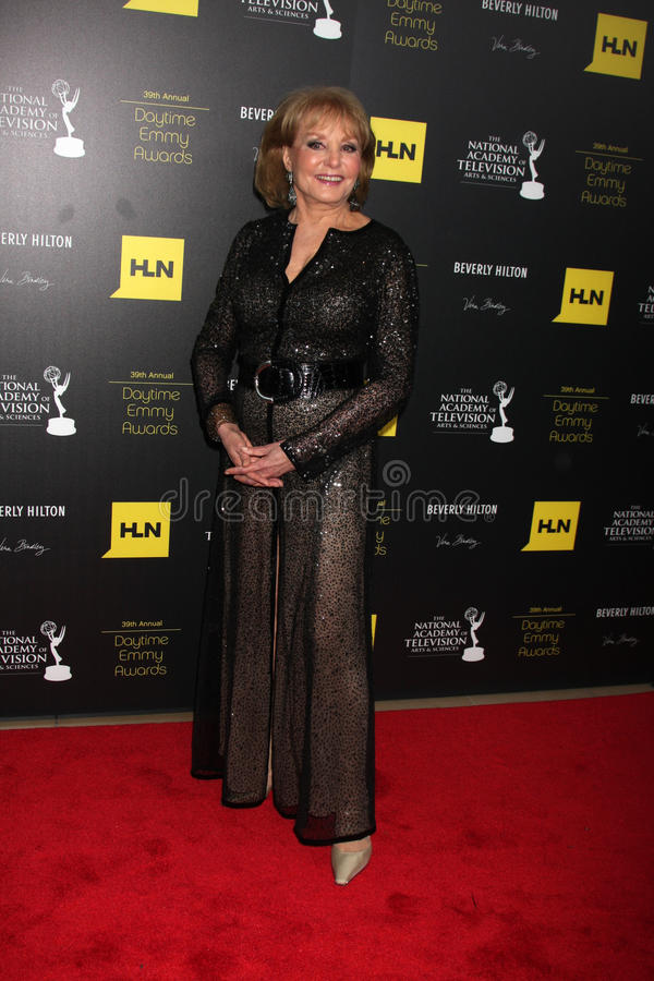 Download Barbara Walters In The Press Room Of The 2012 Daytime Emmy Awards Editorial Photo - Image of beverly, awards: 25586721