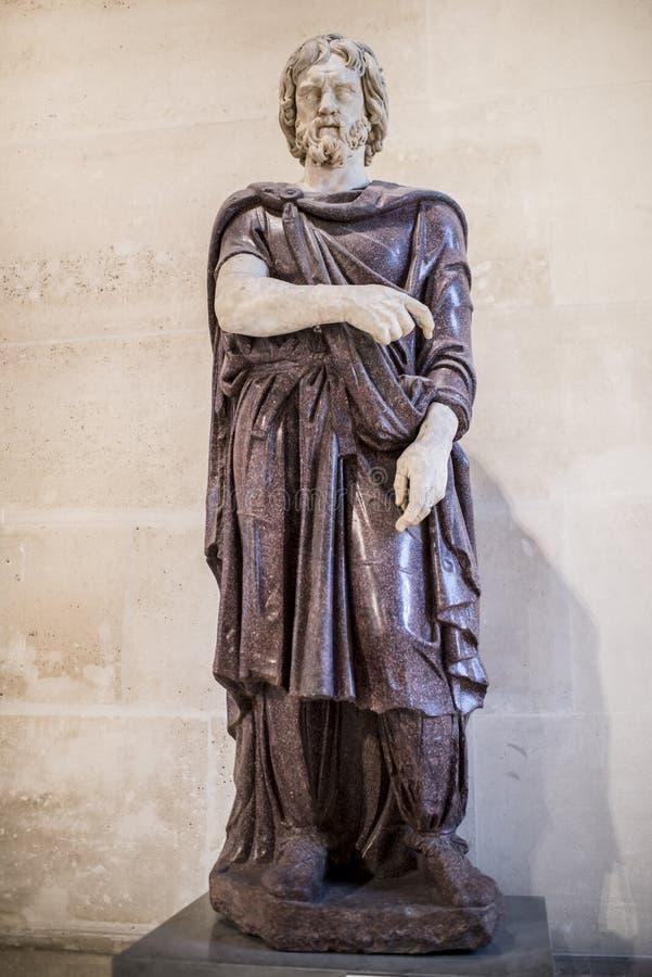 Barbare captif Samlingen av Borghese luftventil royaltyfri fotografi