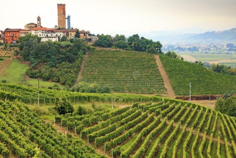 Barbaresco Ιταλία στοκ φωτογραφία με δικαίωμα ελεύθερης χρήσης