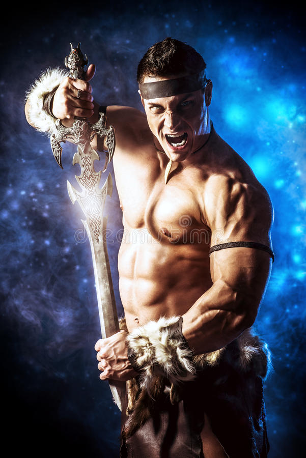 Barbarian stock photography