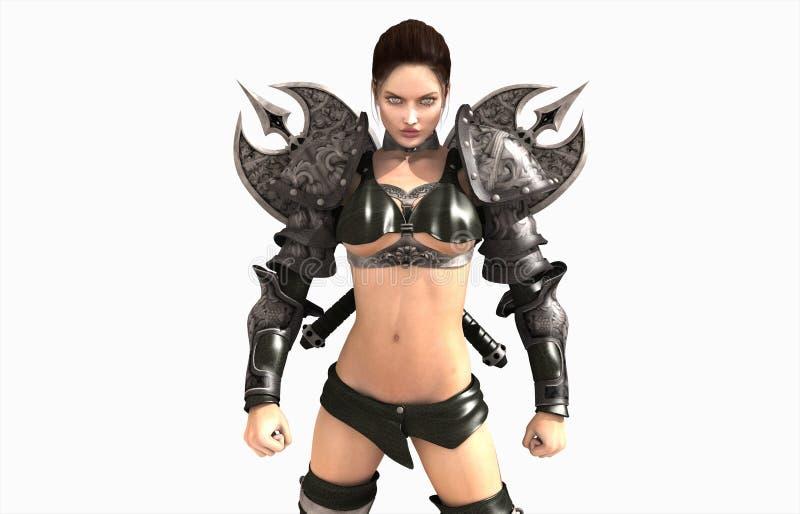Barbarian Woman Royalty Free Stock Image