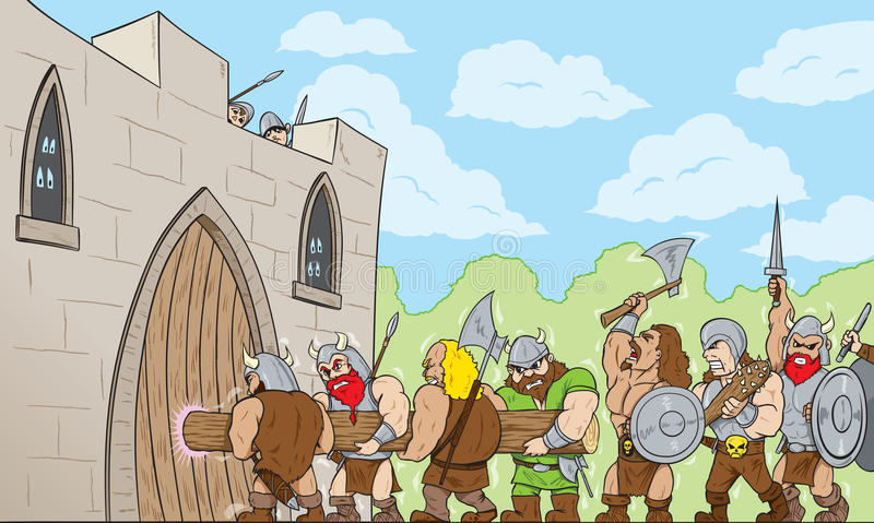 Download Barbarians At The Gate Royalty Free Stock Photo - Image: 32345465