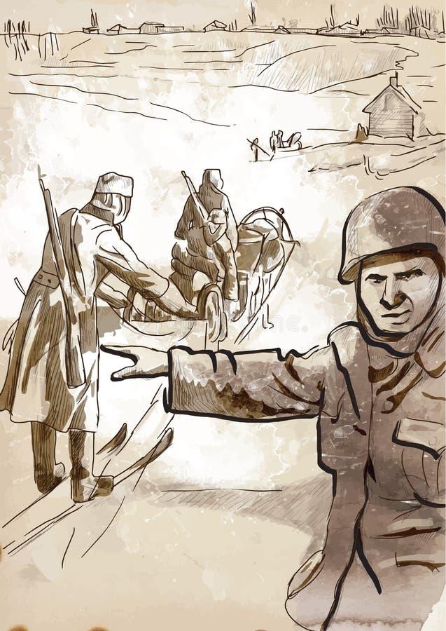 Barbarossa иллюстрация вектора