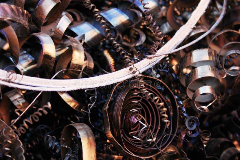 Barbeando a corrosão da sucata de metal oxidada imagem de stock royalty free