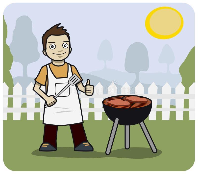 Barbecue illustration stock