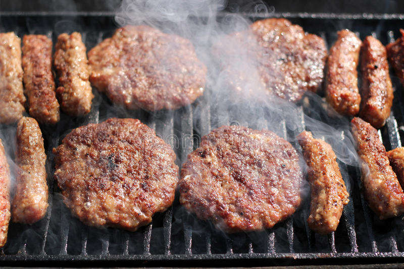 Download Barbecue stock photo. Image of hamburger, eating, barbecue - 24060592