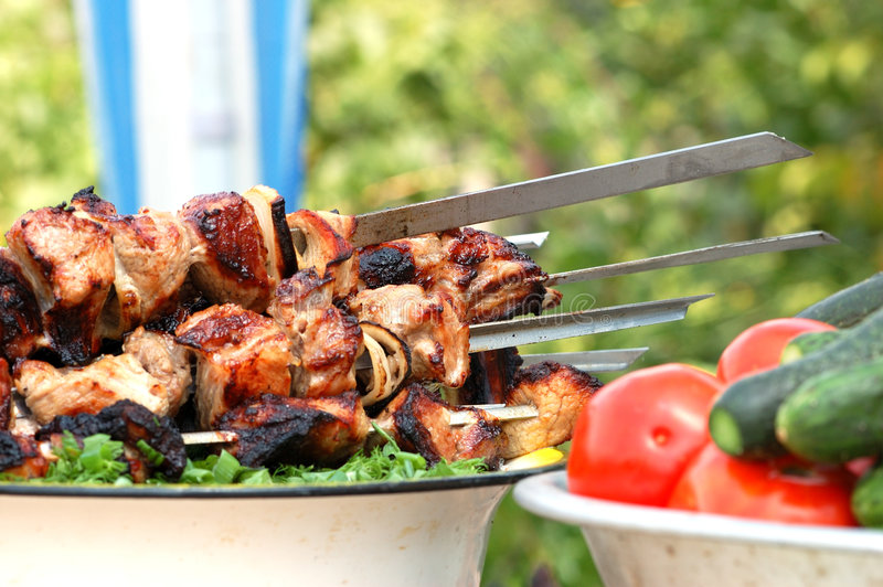 Barbecue stock foto