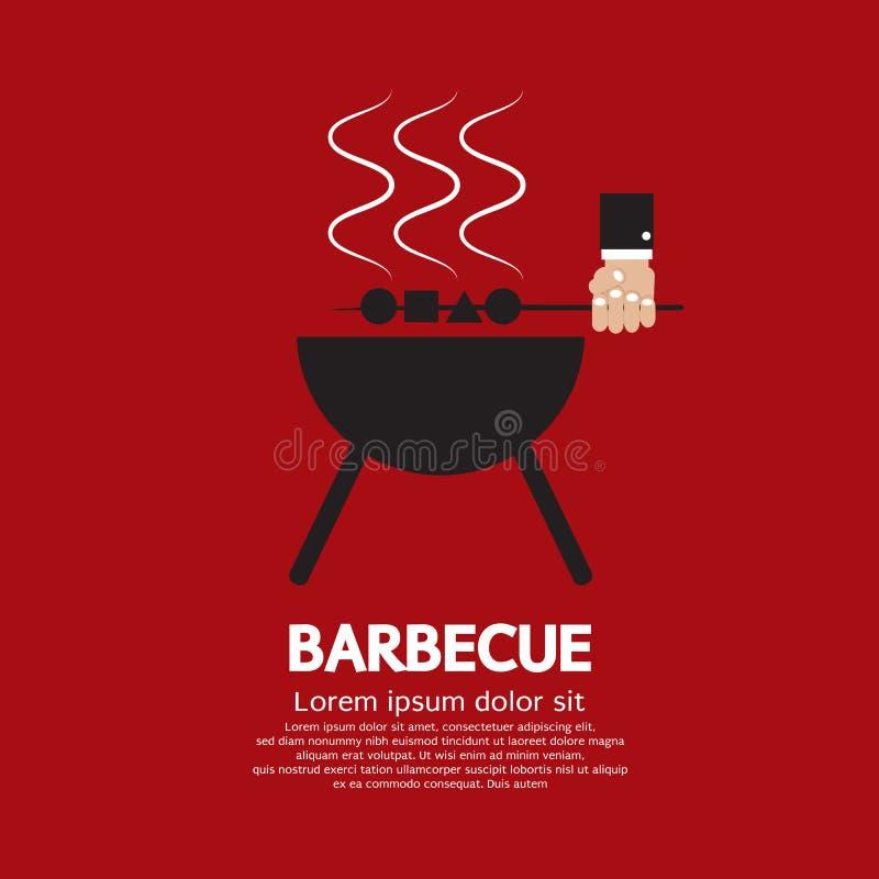 Barbecue illustrazione di stock