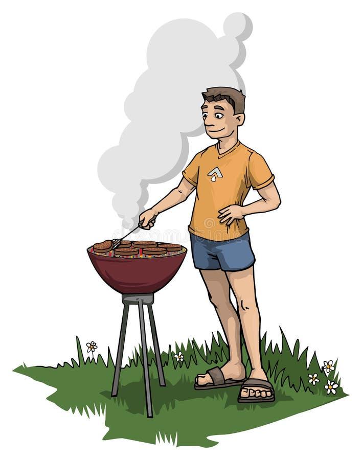 Barbecue stock illustratie