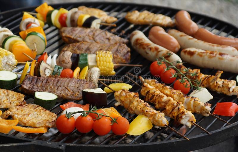 Barbecue, Bbq, Beef royalty free stock photography
