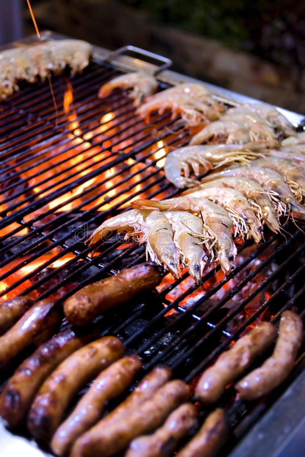 Barbecue Buffet royalty free stock photography
