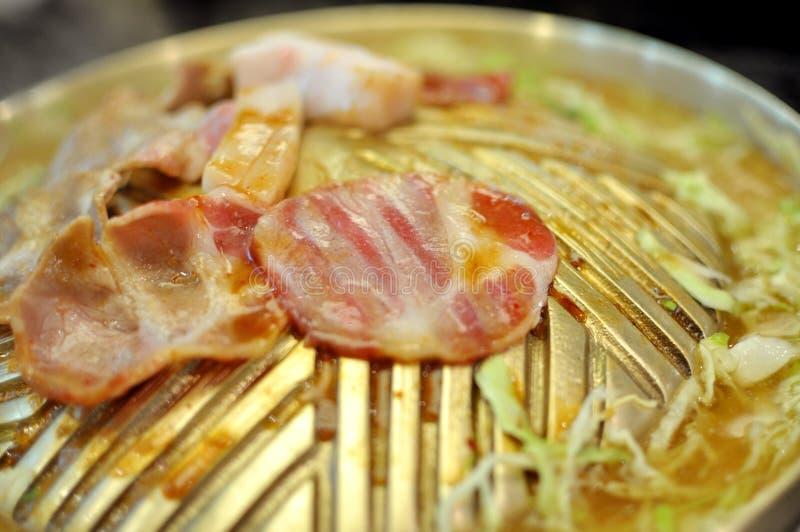 Barbecue coréen photo stock