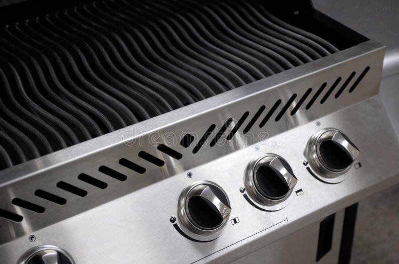 Barbecue d'acier inoxydable images stock