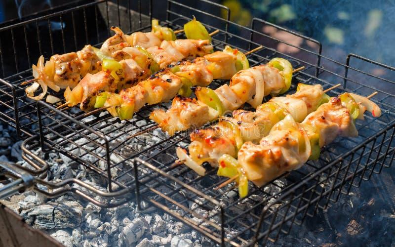 Barbecue de la Turquie images stock
