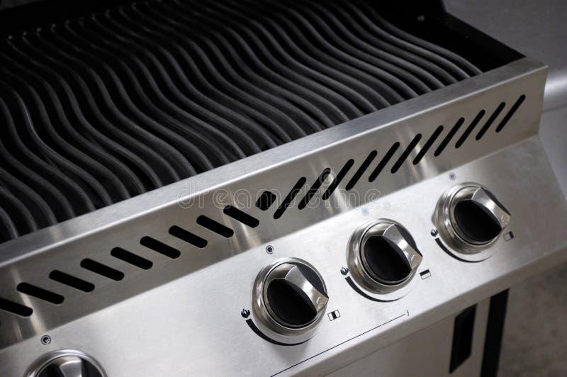 Barbecue dell'acciaio inossidabile immagini stock