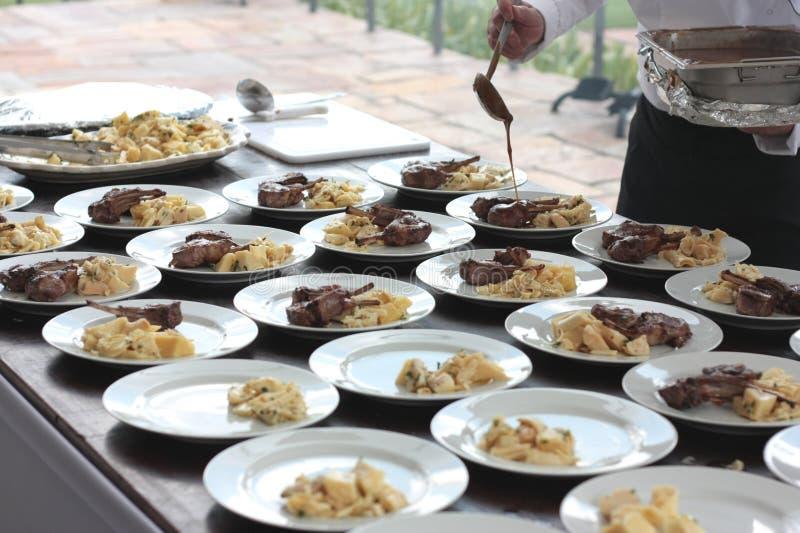 Barbecue dell'agnello dal Brasile fotografie stock
